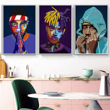 Posters en Prints Frank Ocean ASAP Rocky Tyler Schepper XXXTentacion Rap Sterren Poster Wall Art Canvas Schilderij Kamer Home Decor(China)