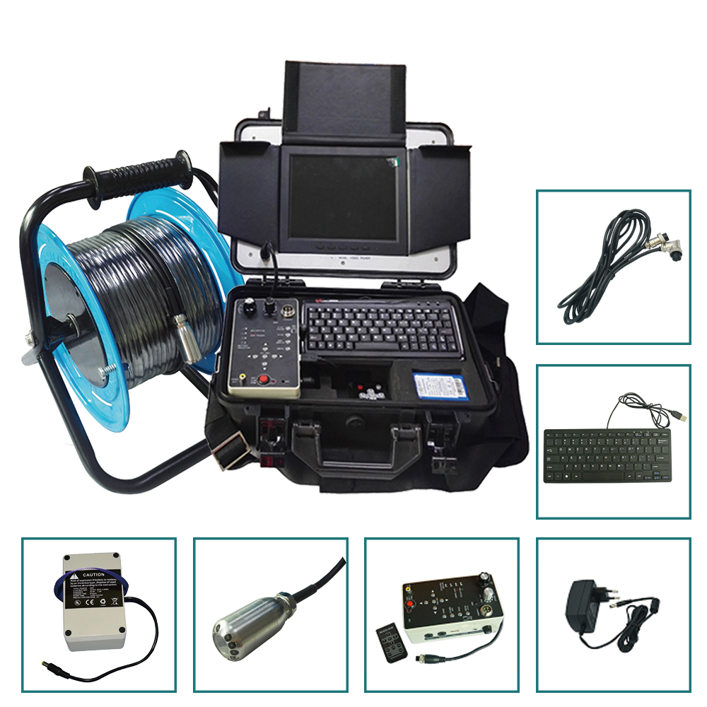 US $3458 0 |Underwater Borehole Water Well Inspection Camera System With  Recording Video And Audio-in Surveillance Cameras from Security &  Protection