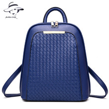 2016 Vintage Casual New Style Backpack Leather High Quality Hotsale Women Candy Clutch Ofertas Famous Designer Brand School Bags