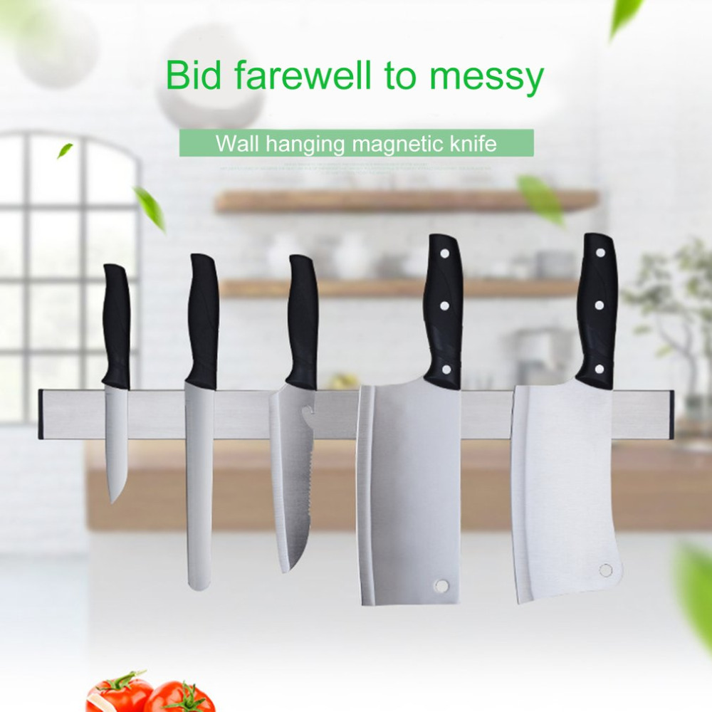 NAI YUE Practical Home Kitchen Wall Mounted Magnetic Knife Holder ...