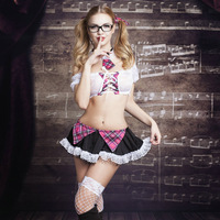 New Porn Women Lingerie Sexy Hot Erotic Sleepwear Lace Student Cosplay Costumes Sexy Bandage Erotic Lingerie
