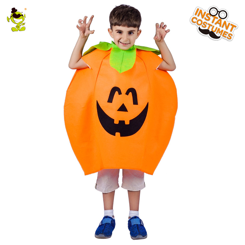 New Arrival Kids Cute Pumpkin Costumes  Cosplay Halloween Party Masquerade Lovely Pumpkin Suit Party  Costumes
