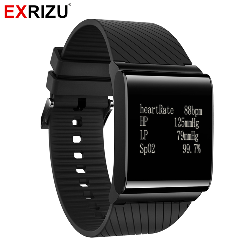 EXRIZU X9 Plus Blood Pressure Monitor Oxgen Heart Rate Smart Wristband Health Fitness Bracelet Tracker Smartwatch Pedometer рюкзак picard 6823 851 023 ozean