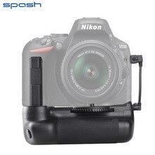 Spash многофункциональная Вертикальная Батарейная ручка держатель для Nikon D5500 D5600 DSLR камера работает с EN-EL14a батарейной рукояткой