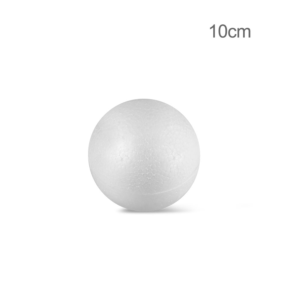 10CM 12CM 15CM Modelling Polystyrene Styrofoam Foam Ball White Craft Balls For DIY Christmas Party Decoration Supplies Gifts X in Party DIY Decorations from Home Garden