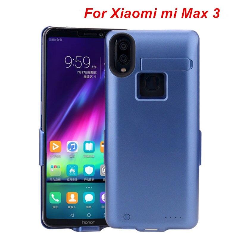 10000 MAH Pour Xiao mi mi Max 3 Batterie Cas Externe Intelligent Capa couvercle de la batterie batterie externe Pour Xiao mi mi Max 3 chargeur Cas