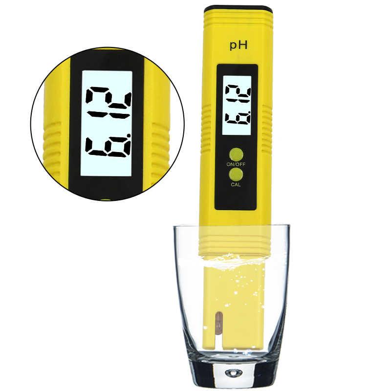 Цифровой ЖК-измеритель PH Ручка тестер точность 0,1 аквариум бассейн Вода Вино мочи автоматическая калибровка