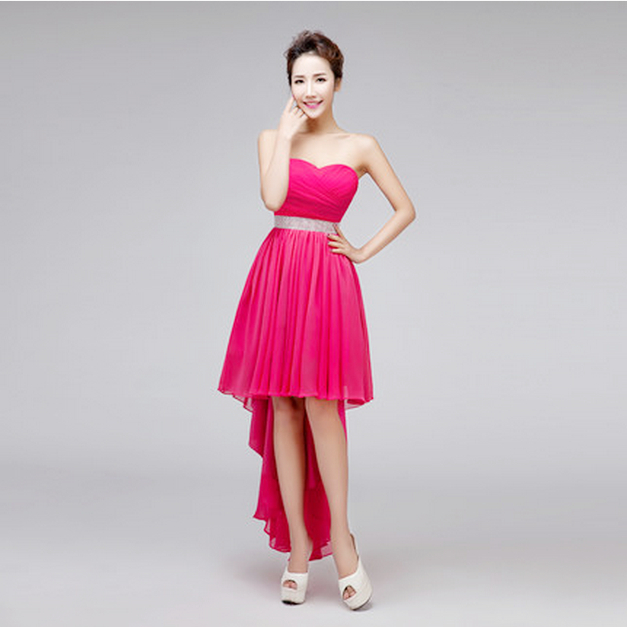 Popular Short Hot Pink Homecoming Dresses-Buy Cheap Short Hot Pink ...