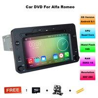 Quad Core Android 5.1.1 Car DVD Player GPS Navigation For Alfa Romeo 159 Spider Sportwagon Brera car Radio Stereo free shipping