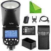 Godox V1 V1 N / V1 C / V1 S TTL Flash Light Li ion Battery Round Head Camera Speedlight Flash For Nikon/Sony/Canon Dslr