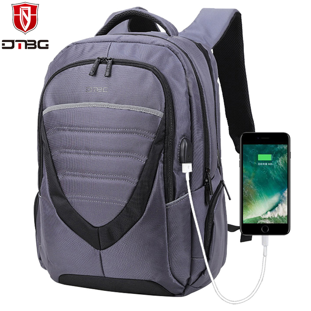 DTBG Laptop Backpack for Men Women's 15 15.6 Inch Backpacks for Apple Mackbook Waterproof Nylon School Travel Bags Notebook Bag kingsons brand waterproof men women laptop backpack 15 6 inch notebook computer bag korean style school backpacks for boys girl