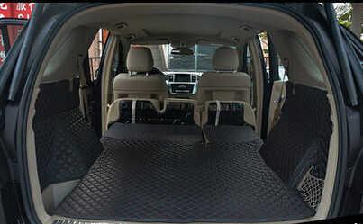 Tapis de coffre spéciaux haute qualité | Pour Mercedes Benz GLE Coupe 250d 350d 2017-2015, tapis de botte imperméables, tapis de protection pour la cargaison