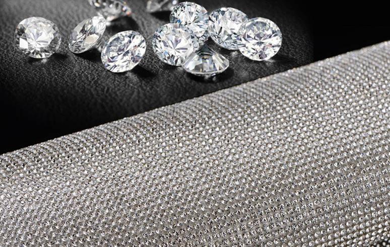 24 * 20cm Crystal Diamond Rhinestone Αυτοκίνητο / - Τέχνες, βιοτεχνίες και ράψιμο - Φωτογραφία 2