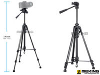 Professional Tripod stand for Camera Camcorder WF 3520 Black tripod tripe extensor para foto with handle head