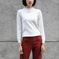 Yichaoyiliang Winter Women's Pullovers Sweater in White Warm Knitted Undershirt Tricot Female 2017 Christmas Sweater