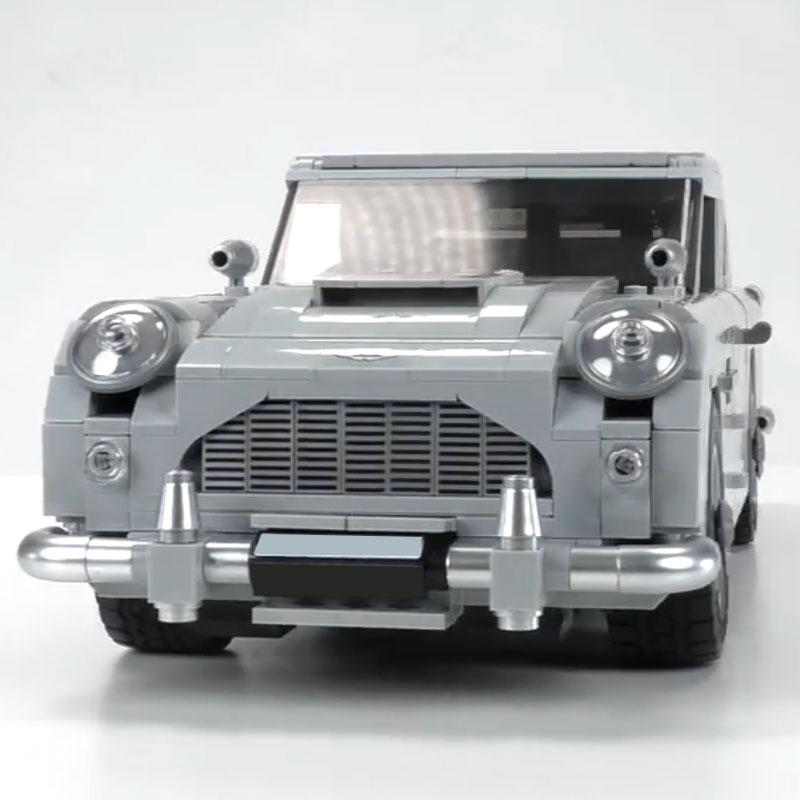 1450 pcs 제임스 본드 애스턴 자동차 모델 마틴 db5 007 모델 완구 세트 빌딩 블록 벽돌 레고 창조자와 호환 10262-에서블록부터 완구 & 취미 의  그룹 2