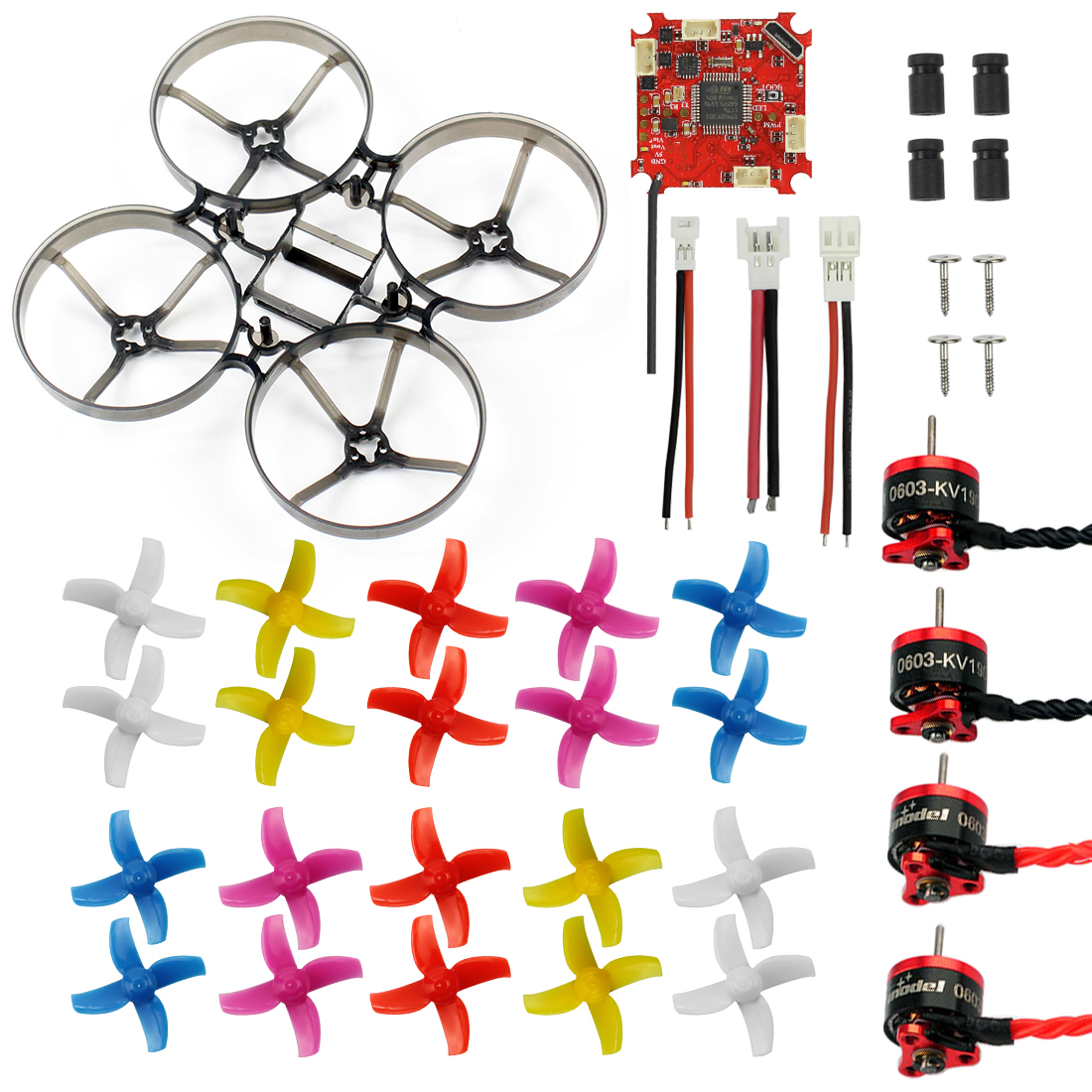JMT Indoor FPV Racing Drone Parts Brushless WhoopFrame with props SE0603 Motor