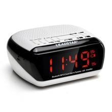 LEADSTAR Wireless Bluetooth V 2.1 LED Display Digital Speaker Alarm Clock FM Radio MP3 Player Speakers