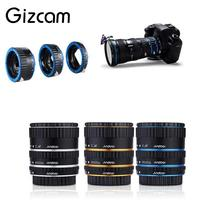 Gizcam Auto Focus AF Extension Tube/Ring Set Lens Adapter For Canon EOS automatic Sports Action Video Cameras Accessories