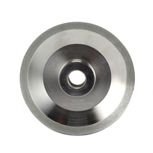 Diamond Grinding Wheel \u0028SDC or CBN optional\u0029 for Drill Bit Grinder Grinding Machine MR-26A, 26D. G3, F6, 125x20x19 mm