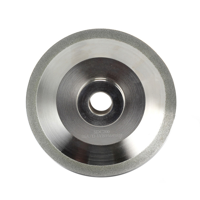 Diamond Grinding Wheel (SDC or CBN optional) for Drill Bit Grinder Grinding Machine MR-26A, 26D. G3, F6, 125x20x19 mm