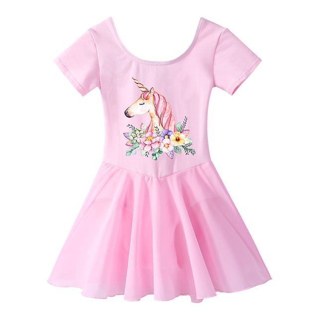 c118c62839cd BAOHULU Kids Girls Ballet Unicorn Tutu Dress Ballet Dress Costumes Toddler  Gymnastics Leotards for Girls Ballet Dancing Class