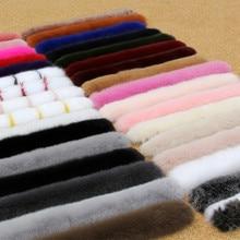 여성 겨울 100% 리얼 폭스 모피 칼라 스카프 코트 모피 칼라 럭셔리 폭스 모피 스카프 정품 따뜻한 목 따뜻하게 목도리