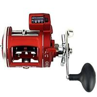 ACL Fishing Wheel Metal Left/Right Handle Casting Sea Baitcasting Reel Coil 12 Ball Bearings Cast Bait Drum Wheel