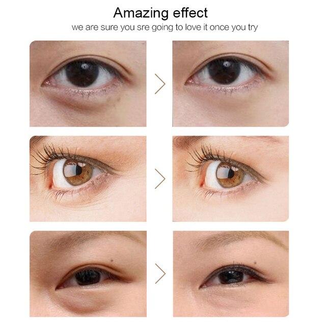24K Gold Eye Masks 60pcs Collagen Eye Mask Ageless Sleep Mask Hydrogel Eye Patches Pads Dark Circles Moisturizing Face Mask Care 5
