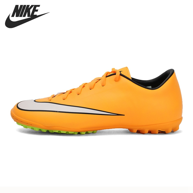 Original New Arrival NIKE MERCURIAL VICTORY V TF Men's Soccer Shoes Football Sneakers бутсы nike mercurial victory cr7 indoor