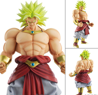 Dragon Ball Z Action Figures Broly DOD 250mm Figuarts Dragonball Broly Figures Bolas De Dragon Ball Juguetes Esferas Del Dragon