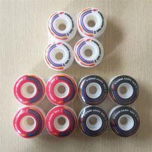 2016 de LA MUCHACHA 4 unids/set Pro 50mm 51mm 52mm Ruedas de Skate Ruedas de skate EE. UU. color cambiado Ruedas Patines Rodas de plástico Skate