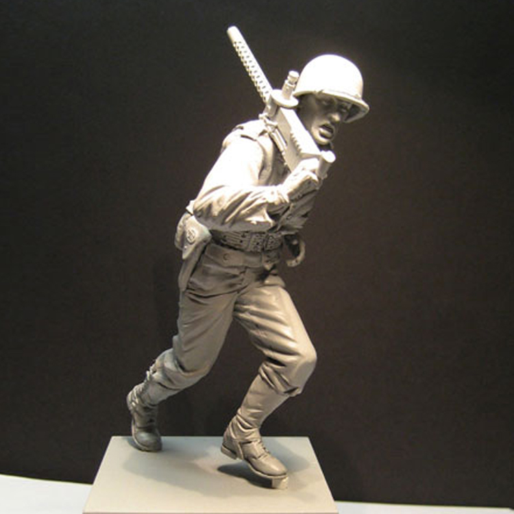 1/16 Resin Figures Scale Model Kit WW2 Soliders Unpainted And Unassembled 180G