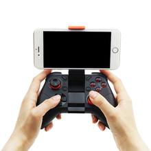 HOT Mocute 054 Bluetooth Gamepad Mobile IOS Android Joystick Wireless VR Controller Smartphone Tablet PC Phone Smart TV Game Pad(China)