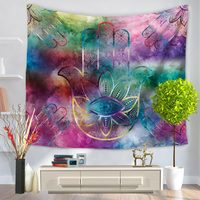 150*200cm Art Hand Tapestry Wall Hanging Tapestries Boho Bedspread Beach Towel Yoga Carpet Blanket Table Cloth For Home