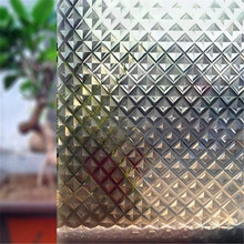 60 * 200 Cm Magic Mosaic Matte Glass Window Film; PVC Privacy Protection; Living Room Bedroom Sun Protection Thermal Stickers