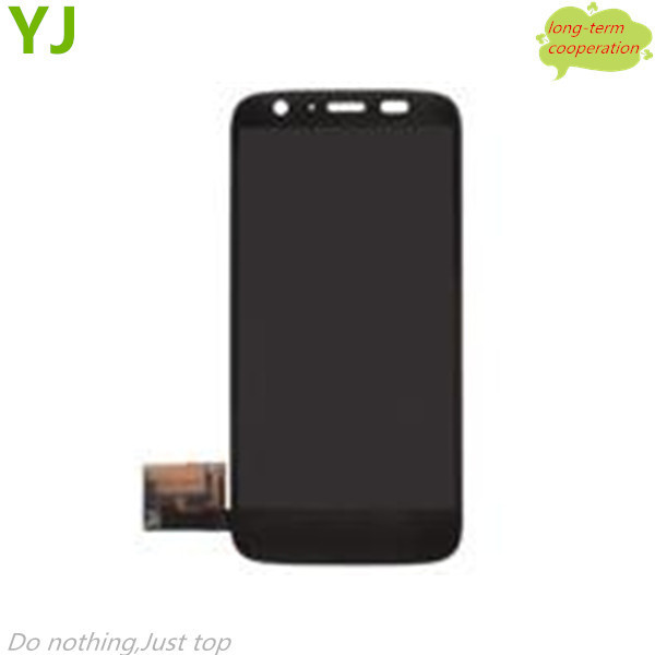 HK Free shipping 100% Tested original for Motorola Moto G DVX XT1032 LCD Screen and Digitizer Assembly - Black