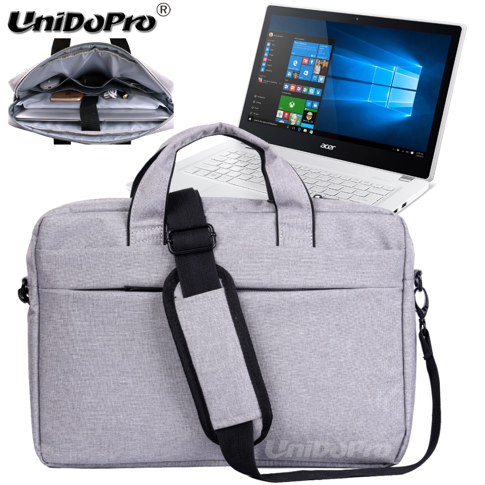UNIDOPRO Waterproof Messenger Shoulder Bag for Acer Aspire V 13 V3-372T-5051 13.3 Full HD Touch Notebook Sleeve Cover ...