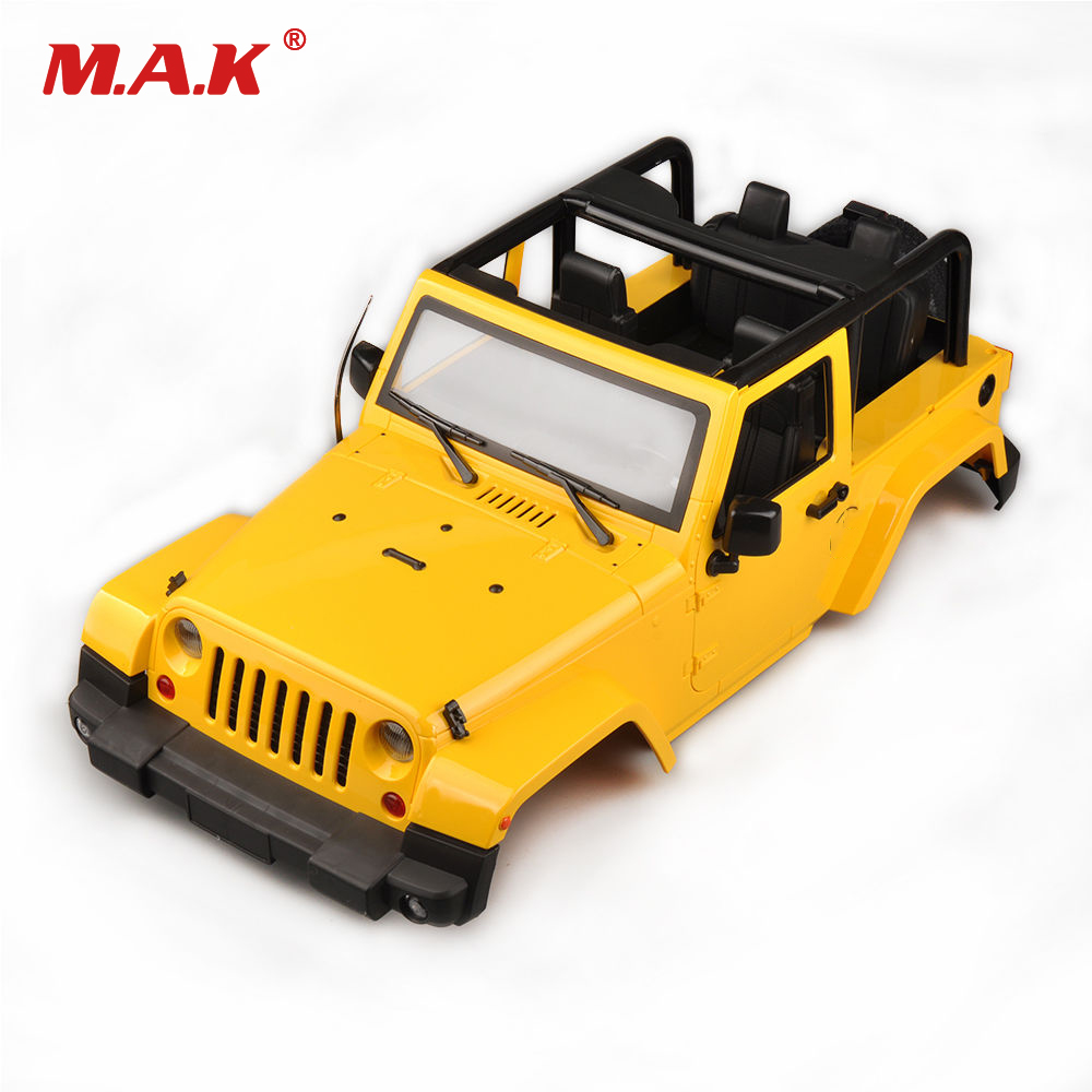 1 10 Rc Truck Hard Body Shell Canopy Rubicon Topless For: Aliexpress.com : Buy 1/10 RC Truck Hard Body Shell Canopy