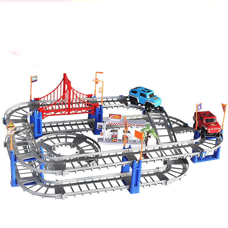 Deformation Electric Trains Track Set Children Trackmaster Model Packing Diecasts & Toy Vehicles Miniature Toy Cars