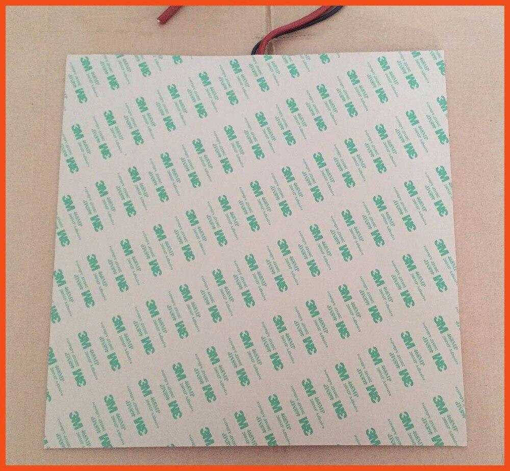 Gomma di silicone 3d stampante riscaldatore 220 v 1000 w 500*600MM 3m adhesive100k thermistor silicone heating pad stampante mat