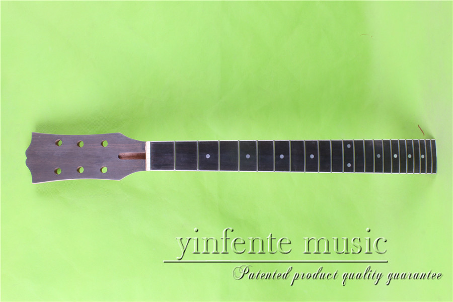 L-00160 # 24.75 Electric guitar neck fine quality ebony fingerboard 22 fret ps 00104 24 75 electric guitar neck rosewood fingerboard fine quality 22 fret