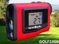 Golf Laser Rangefinder 1000m Handheld Laser Rangefinder Monocular Golf Scope Measurement Speed Angle Measurer Waterproo GOLF1000