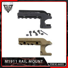 VMASZ Airsoft Clot 1911 M1911 45 Pistol Picatinny 20mm Under Rail Mount Adapter Laser Accessories