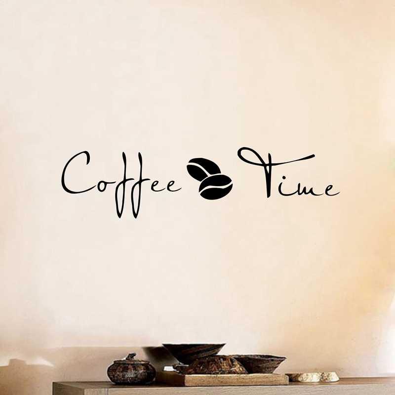 Кофе, wall-Art Наклейки Стикеры, виниловые наклейки на стену кофе для кофейни или офисный Декор