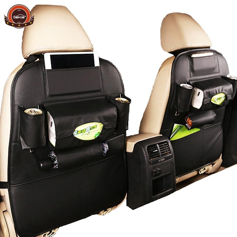 2018 nuevo asiento de coche bolsa de almacenamiento de bolsas colgantes coche asiento de seguridad infantil coche steat bolsa multifunción caja de almacenamiento