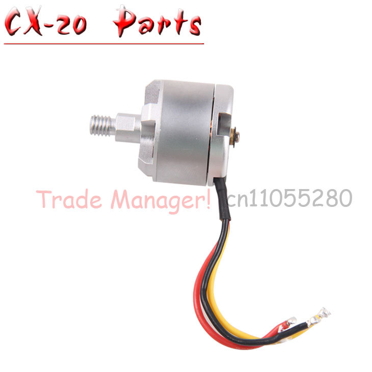 Free shipping CX-20  Axis UAV parts Forward, reverse Brushless motor parts for 2.4Ghz Pathfinder rc Quadcopter Drone spare Parts free shipping receiver board cx 20 007 for cheerson auto pathfinder cx 20 rc drone quadcopter spare parts helicopter