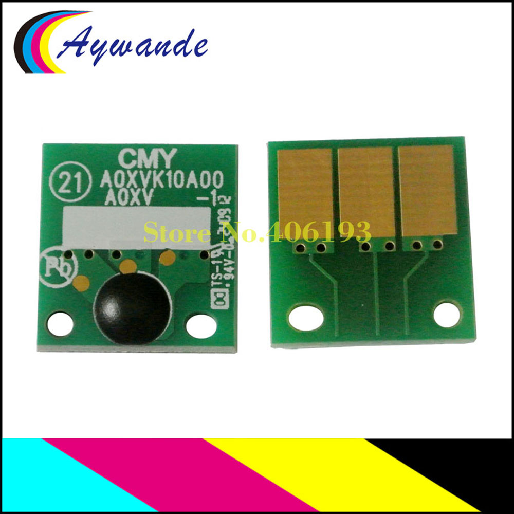 1 Set for Konica Minolta BIZHUB C220 C280 C360 Image Units  DR311 4 Drum Chips