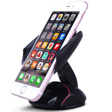 Elegant Black Universal Mobile Car Phone Holder Stand Cellphone Support for iphone 5 6 7 plus samsung s9 plus galaxy s9 galaxy цена