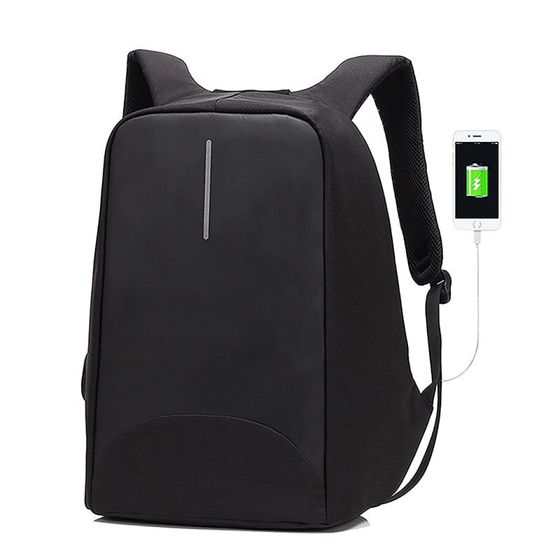Securetech Anti Theft Backpack Anti-Theft Usb Charging Travel Luminous Antitheft Backpack Usb Charger Waterproof Laptop Bag E022 3502080 canemu anti theft simulator